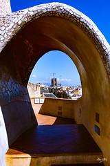 Mila_CB6A0103 (gkalaf) Tags: espana spain barcelona guadi casa mila pedrera