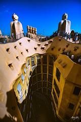 Mila_CB6A0081 (gkalaf) Tags: espana spain barcelona guadi casa mila pedrera