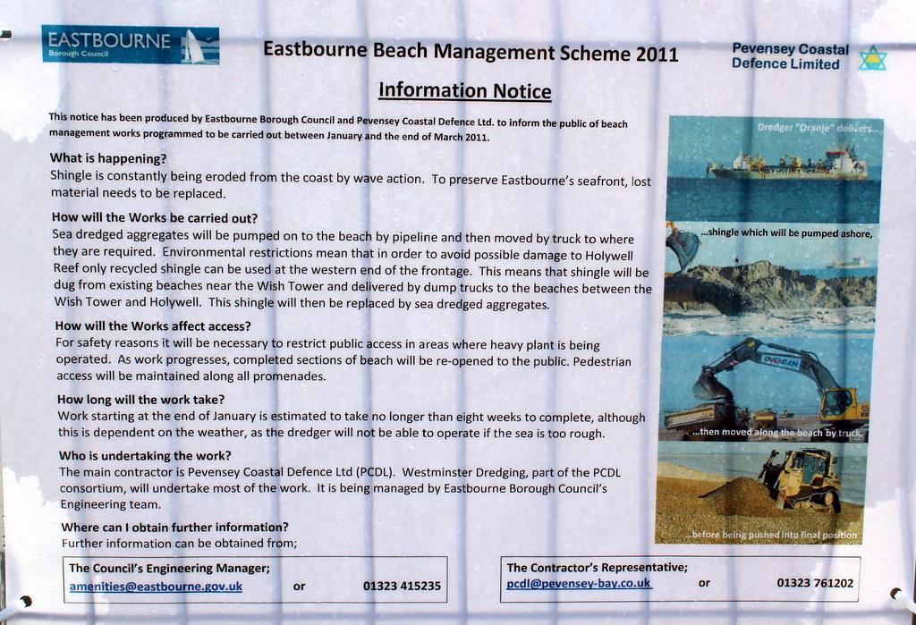 002 Eastbourne Beach reconstrunction February 3rd 2011