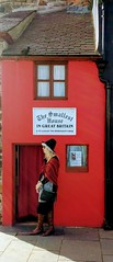 Smallest house in Great Britain (lesleydugmore) Tags: house red smallesthouse uk britain europe window door roof