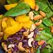 Make Food - Gesunde Vegane Gemüsebowl mit Bohnen, Rotkraut, Cashewnüssen und Spinat