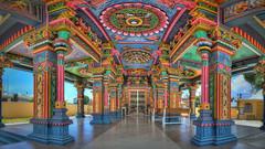 Mauritius Port Louis IX (stega60) Tags: mauritius ilemaurice hindu hindutemple maduraimariammankovil colors hindugods portlouis tempel temple stiched hdr panorama stega60 pano