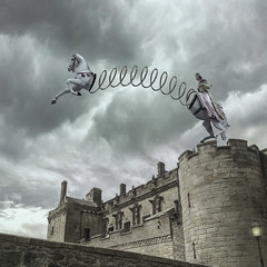 Slinky (Cat Girl 007) Tags: slinky horse surreal surrealism photomanipulation photomontage whimsical