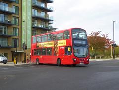 AL DW485 - LJ61CAA - OSF - KIDBROOKE PARK ROAD - SAT 9TH NOV 2019 (Bexleybus) Tags: arriva london kidbrooke village ferrier estate se3 east wrightbus tfl new route 335 daf dw485 lj61caa park road