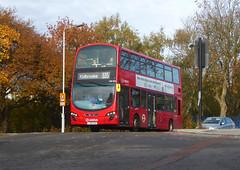 AL DW485 - LJ61CAA - KIDBROOKE PARK ROAD - SAT 9TH NOV 2019 (Bexleybus) Tags: arriva london kidbrooke village ferrier estate se3 east wrightbus tfl new route 335 daf dw485 lj61caa park road station a2 homebase