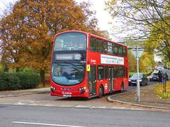 AL DW485 - LJ61CAA - TUDWAY ROAD KIDBROOKE - SAT 9TH NOV 2019 (Bexleybus) Tags: arriva london kidbrooke village ferrier estate se3 east wrightbus tfl new route 335 daf dw485 lj61caa park road tudway
