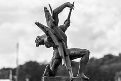 Genius (Steffe) Tags: genius sculpture carlmilles millesgården djurgården
