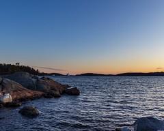 Sunrise at Skeppsdal (envall.magnus) Tags: sunrise clouds water sea ocean sky archipelago scandinavia europe sweden sverige österåker åkersberga skeppsdal canon