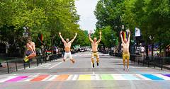 2019.06.09 Rainbow Crosswalk, Washington, DC USA 159 03012