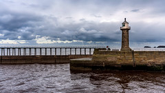 East Pier and Lighthouse (Derwisz) Tags: seaside seascape whitby harbour pier lighthouse sea england nothyorkshire yorkshire maritime canoneos40d