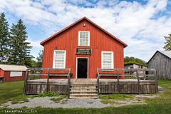 Roxborough Township Hall (Samantha Decker) Tags: canonef1635mmf28liiusm glengarrypioneermuseum glengarry canoneos5dmarkiv ontario canada samanthadecker on dunvegan northglengarry