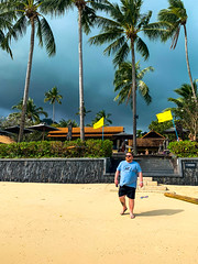 A Storm brewing in Lamai Beach, Koh Samui, Jan 2019 (Bluebullet1) Tags: colour clouds outside light sky beach sea sun outdoors blue landscape