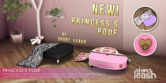 .:Short Leash:. Princess's Pouf (Short Leash // original mesh & virtual kink) Tags: shortleash secondlife bdsm kinky cuteandkinky babydom babygirl femdom fetish lockguard rlv mistress princess miss sub submissive service subbydaddy daddy pastel kawaii pegging teaseanddenial worship goddess queen