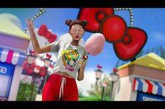 Childhood Memories (Jangsungyoung Resident) Tags: second life fashion events astralia hello kitty jimmy paul difuzed theme park anniversary