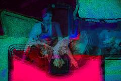Mujer y pájaro (seguicollar) Tags: art arte artedigital texturas virginiaseguí imagencreativa photomanipulation mujer pájaro