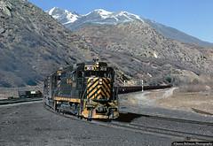 CBC Coal Train (jamesbelmont) Tags: carboncountyrailway riogrande drgw emd gp30 thistle utah train railroad railway locomotive spanishforkcanyon marysvalebranch coal hoppers ctc