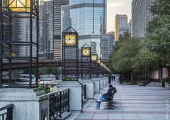 North River Walk, Lights (rjseg1) Tags: chicago river riverwalk urban city
