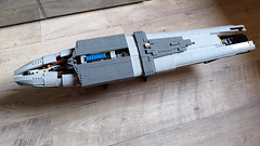 UCS MC75 015 (Commander Keller) Tags: raddus star wars mc 75 mon rebel calamari alliance rogue one cruiser battle scarif ship lego ucs