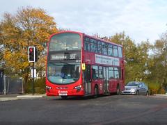 AL DW485 - LJ61CAA - NSF - KIDBROOKE PARK ROAD - SAT 9TH NOV 2019 (Bexleybus) Tags: arriva london kidbrooke village ferrier estate se3 east wrightbus tfl new route 335 daf dw485 lj61caa park road station a2 homebase