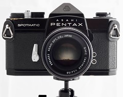 Asahi Pentax Spotmatic (mandoflex) Tags: pentax spotmatic black paint