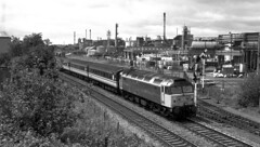 Class 47 47846 Diverted over the Kidderminster line 1990 (flashbangmilly) Tags: 47846 thor langley poole birmingham