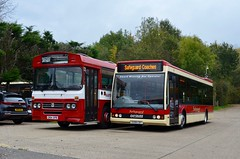 Where does the time go? (Leopard26r) Tags: c164spb leylandtiger duple dominantbus dupledominant x308cbt optare optareexcel safeguardcoaches safeguard guildfordbuses