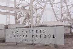 The Eternal Patrol (4 of 4) (SolanoSnapper) Tags: werehere wah noboundaries coldwarmonument ussmarianogvallejo ssbn658 submarine mareislandnavalshipyard vallejo