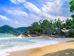Panviman Resort, Kho Pha Ngan 2017 (Bluebullet1) Tags: sea landscape blue outside city water colour
