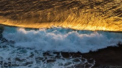 Golden Hour Waves (Different Aspects) Tags: waves water golden tenerife