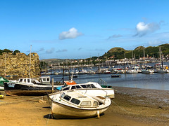 Conwy Aug 2019 (Bluebullet1) Tags: sea landscape blue outside city water colour boat nature beach sun sky outdoors