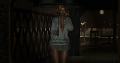 Caught Out In Rain (♪♫ The Songstress, Miss M ♫♪) Tags: 7event allurecouture ardentposes chezmoi couture fashion freyasweaterminidress hansset jessposes littlebranch secondlife