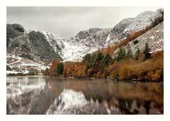 Autumn meet Winter (busmender1964) Tags: snowdonia snow mountains autumnalcolours welshlandscape landscape
