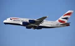 British Airways A380-800 G-XLEB (socal.spotter) Tags: britishairways a380800 gxleb klax lax laxairport losangelesinternationalairport