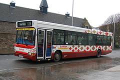 Lothian Buses Dennis Dart SLF 62 SK52OJF - Leith, Edinburgh (dwb transport photos) Tags: lothianbuses dennis dart plaxton pointer bus sk52ojf leith edinburgh