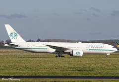 Crystal Luxury Air (Comlux Aruba) 777-200(LR) P4-XT (birrlad) Tags: shannon snn international airport ireland aircraft aviation airplane airplanes airline airliner airlines airways parked apron ramp taxiway boeing b777 b772 777 777200lr 77729mlr crystal luxury air comlux aruba p4xt bizjet private passenger jet executive vip