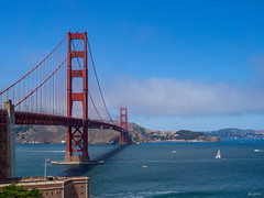 classic view on the Golden Gate Bridge (kleiner_eisbaer_75) Tags: san francisco usa kalifornien california brücke bridge golden gate wasser water pazifik ngc