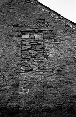 it's never over (Mano Green) Tags: wall stone farm countryside rural old ruin cumbria england uk january winter 2017 canon eos 300 40mm lens ilford delta 100 35mm film ilfosol s epson perfection v550 black white