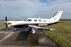 N3975C (Andras Regos) Tags: aviation aircraft plane fly airport lhny nyíregyháza piper pa46 pa46malibumirage