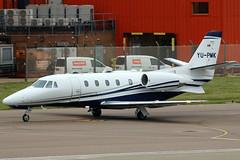 YU-PMK_01 (GH@BHD) Tags: yupmk cessna c560 c560xl citation citationexcel cessnac560xlcitationexcelxls airpink londonlutonairport lutonairport luton ltn eggw aircraft aviation executive corporate bizjet
