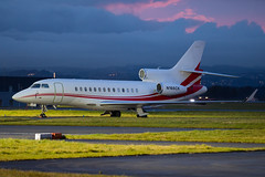 N166CK Dassault Falcon 7X EGPF 02-11-19 (MarkP51) Tags: n166ck dassault falcon 7x bizjet corporatejet glasgow airport gla egpf scotland airliner aircraft airplane plane image markp51 nikon d500 nikon70200f4vr