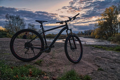 Relax on the Nahe (Parchman Kid (Jerry)) Tags: relax nahe river free time bike bycicle sunset parchmankid sony a6500 jerry burchfield raw edit landscape ilce6500 ambiance ambience mood ambient ambiant moody atmosphere