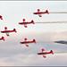 PC-7 Team + F/A-18C  Swiss Air Force