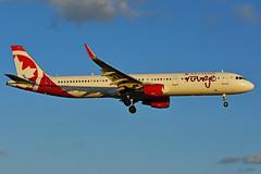 C-GJTH (Air Canada - rouge) (Steelhead 2010) Tags: aircanada rouge airbus a321200 a321 yyz creg cgjth