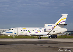 SAS Institute Inc. Falcon 900EX N7600S (birrlad) Tags: shannon snn international airport ireland aircraft aviation airplane airplanes bizjet private passenger jet arrival arriving landed runway taxi taxiway stand apron ramp n7600s dassault falcon 900ex f900 sas institute inc