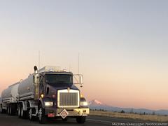Leathers Fuels Kenworth T800, Truck# 81 (Michael Cereghino (Avsfan118)) Tags: leathers fuels oil co company kenworth kw t800 t 800 daycab fuel tanker truck semi hauler gas heavy haul 4 8 axle combo scenic mt hood oregon mountain