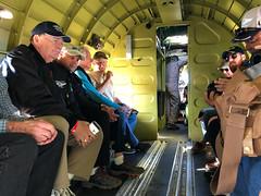 Preparing for Takeoff in the C-47 (Ian E. Abbott) Tags: thatsallbrother douglasaircraft douglas c47a c47 dc3 skytrain dakota 4292847 12693 n47tb commemorativeairforce caf centraltexaswing wingsoverdallas krbd rbd c47interior