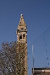 IMGP4749 (hlavaty85) Tags: venezia venice benátky burano chiesa church kostel martino martin campanilla zvonice tower věž