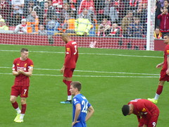 Pre second half (lcfcian1) Tags: liverpool leicester city lfc lcfc anfield stadium epl bpl premier league sport football liverpoolfc leicestercity liverpoolvleicester premierleague stadia