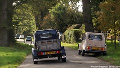 Najaarsrit 2019 (Wouter Bregman) Tags: bj75hb hj27bg citroën dyane citroëndyane acadiane pickup dyaneverenigingnederland amiverenigingnederland najaarsrit 2019 oranjeweg gortel veluwe gelderland nederland holland netherlands paysbas vintage old classic french car auto automobile voiture ancienne française france frankrijk vehicle outdoor