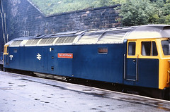 47709. (curly42) Tags: 47709 class47 duff brushtype4 railway transport britishrail scotrail glasgowqueenstreet sulzer